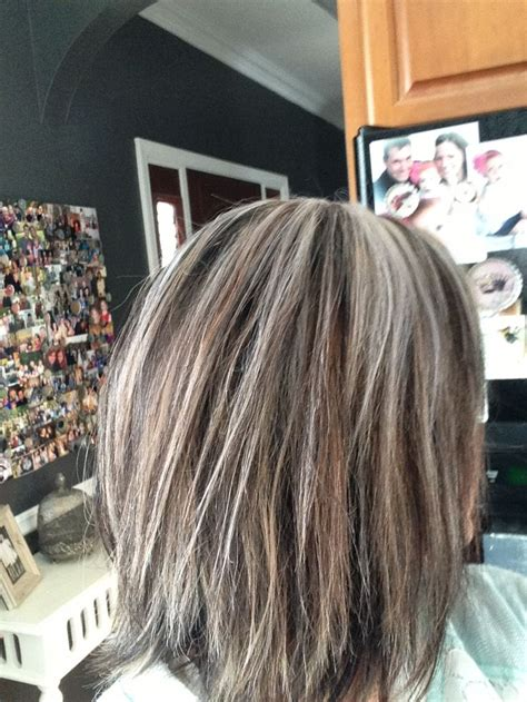 color highlights to blend gray into brown hair pictures of blending gray hair dark brown hairs