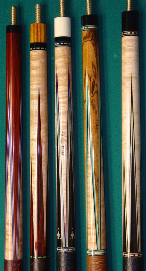 Handmade Pool Cues - cues