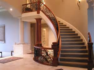 Curved Stairs Design Newels Railings Balusters Banisters Risers And Treads Stair Parts Atlanta Alpharetta