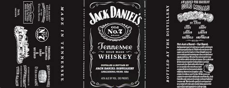 jack daniel s bottle label template pictures to pin on
