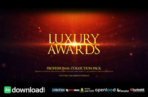 after effects templates free awards luxury awards free download videohive template free