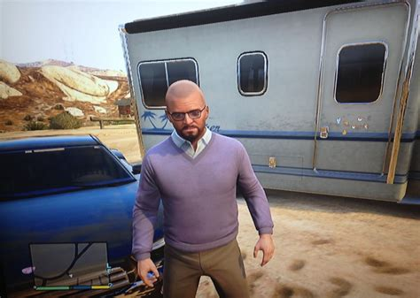 Walter White Auto by Play Grand Theft Auto V As Breaking Bad S Walter White