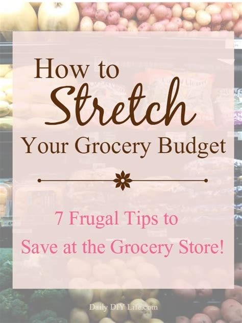 frugal tips  save   grocery store