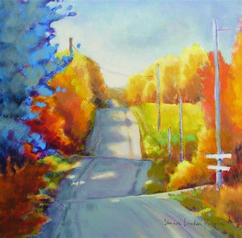 acrylic painting landscape acrylic landscape eleanor lowden pidgeon