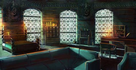 Slytherin Bedroom by Slytherin Room By Jontorresart On Deviantart