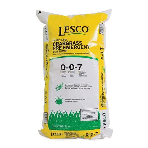 Home Decor Rental lesco 50 lb crabgrass control 0 0 7 052388 the home depot