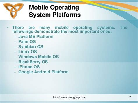 operating system mobile ppt mobile operating systems powerpoint presentation