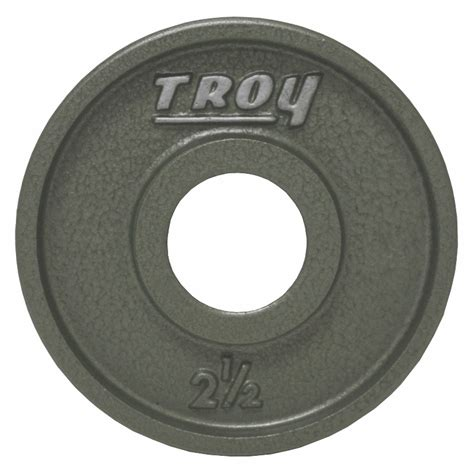 Ez Fit Flooring by Troy Wide Flanged Gray Olympic Weight Set