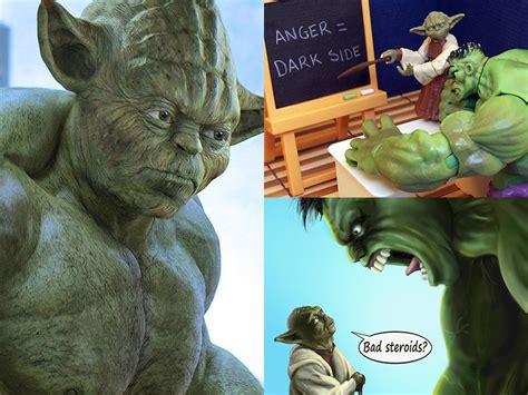 Memes De Hulk - yoda hulk meme and photo collection geektyrant