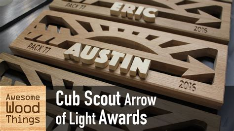scout arrow of light cub scout arrow of light awards