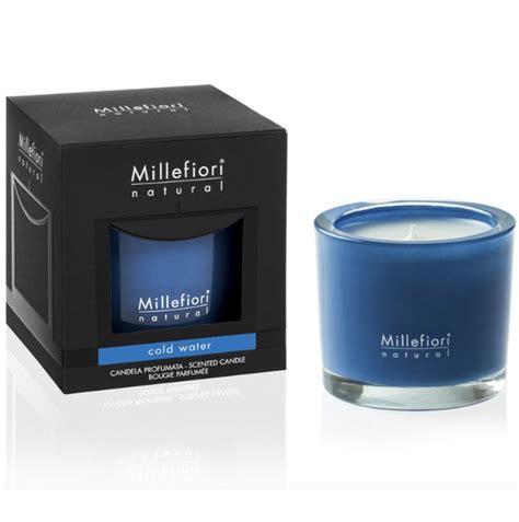 millefiori candele millefiori candela profumata cold water fior di loto