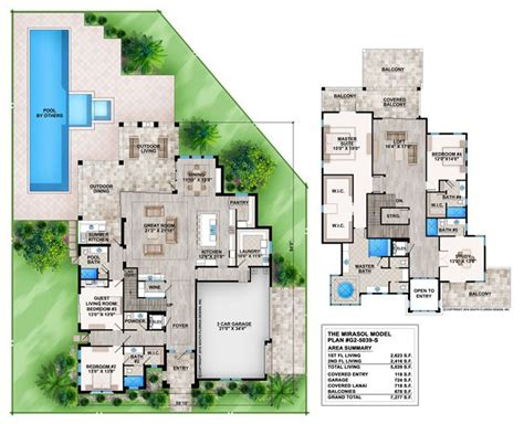 5 bedroom 3 car garage house plans 17 best images about contemporary house plans on pinterest