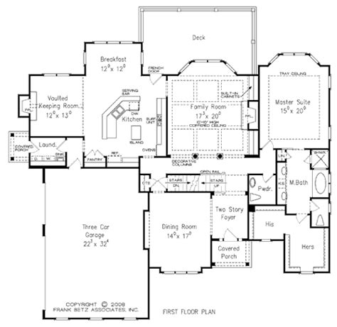 Floor Plans 3000 Square Feet by Custom Design Services Stewart Home Construction