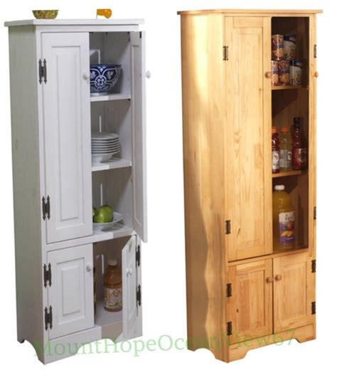 tall kitchen cabinet extra tall wood cabinet cupboard storage bathroom organizer pantry hutch kitchen ebay