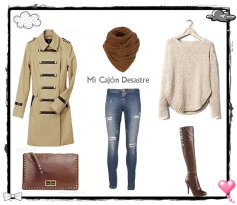 imagenes de outfits otoño invierno 2013 mi caj 211 n desastre premio outfits para combatir el frio
