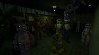 All characters from five nights at freddy s sfm by datoneshipper on