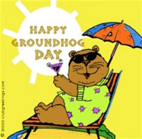 groundhog day vs happy day groundhog jokes and quotes quotesgram