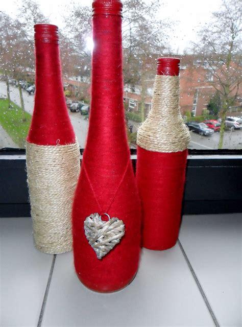 ideas de como decorar botellas de vino botellas vidrio decoradas ideas decoracion de vino tinto