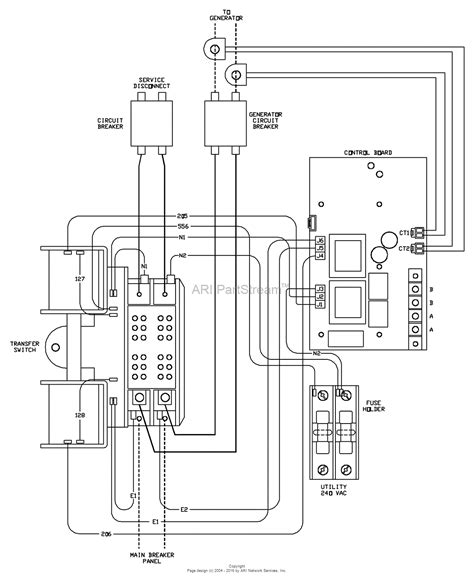generac manual transfer switch wiring diagram wiring