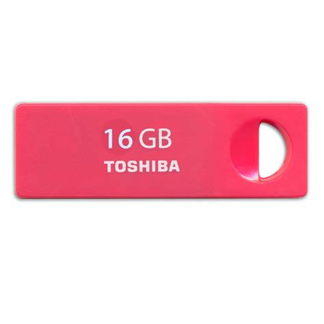 Toshiba Metal Usb Flashdisk 16gb toshiba enshu mini usb flash drive 16gb uens 016g jakartanotebook