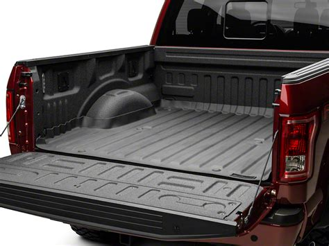 ford f150 bed mat weathertech f 150 techliner bed liner black 36912 15 18