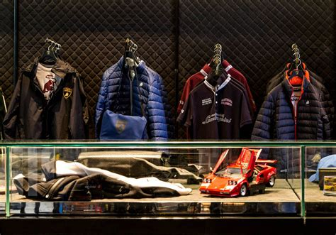 Lamborghini Store by Lamborghini Opens New Fashion Boutique At The Dubai Mall