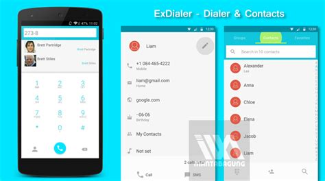 apk theme android l exdialer pro dialer contacts apk android l theme