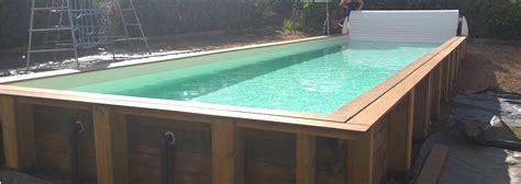 couloir de nage en kit 902 vercors piscine piscine en bois mini piscine