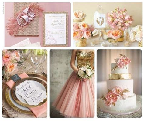 rose themes wedding rose gold bridesmaid dresses and bridesmaid on pinterest