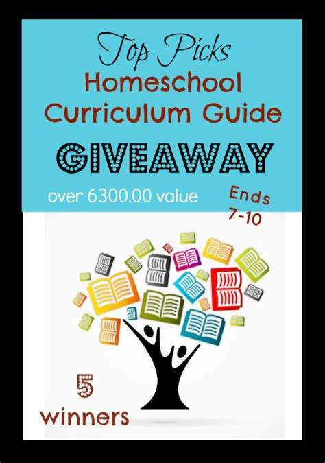 Homeschool Giveaways - huge top picks homeschool giveaway over 6300 00 value blessed