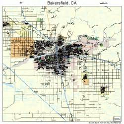 bakersfield california us map bakersfield california map 0603526