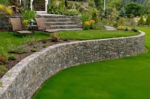 Ideas For Retaining Walls Garden Retaining Wall Design Landscaping Network