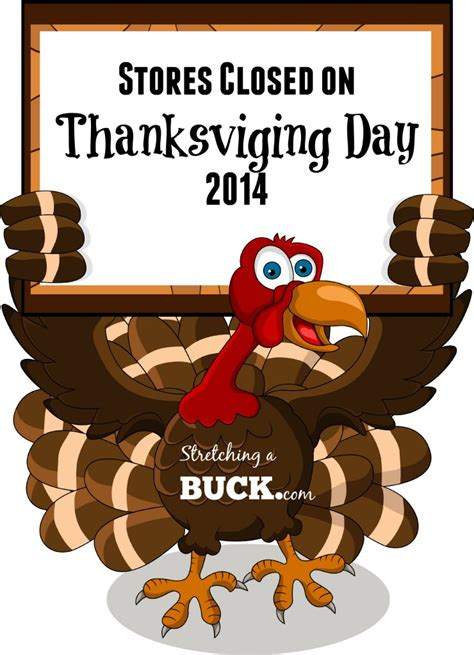 list of stores closed on thanksgiving day 2014