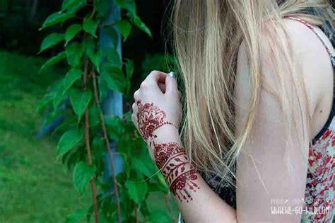henna tattoo farbe selber machen henna selber machen kunstvolle diy mehndis vorlagen