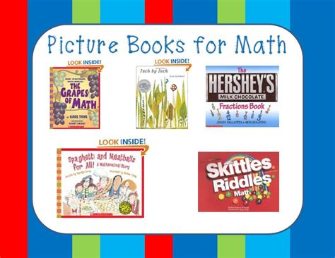 math picture book picture books for math rhyming