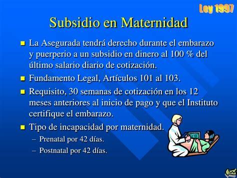 nueva ley de licencia por maternidad 2016 nueva reforma de incapacidad por maternidad 2016