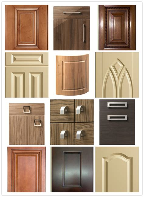 kitchen cabinet shutters 18mm fancy mdf board vinyl wrapped pvc kitchen cabinet