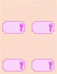 placecards for baby shower free templates and