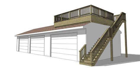 Garage Deck by Marvin Garage Deck Addition Brothers Construction