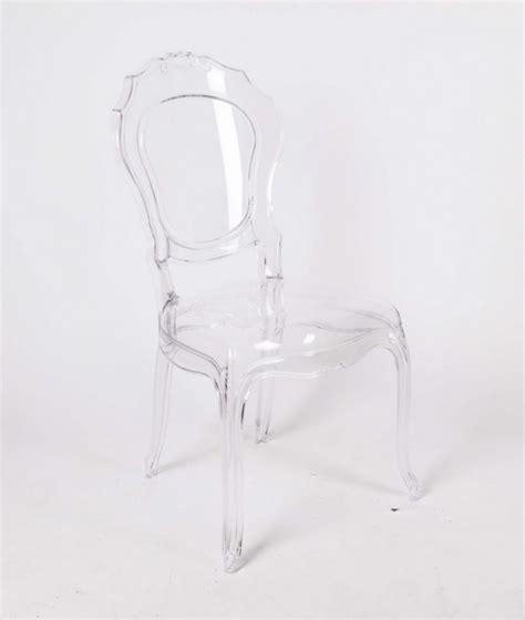 stuhl barock aus polycarbonat transparent - Stuhl Polycarbonat Transparent