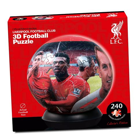 3d Liverpool 240pc 3d football jigsaw puzzle arsenal chelsea liverpool