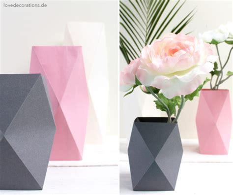 Vase Origami - diy origami vase 4 und meine besondere beziehung zu