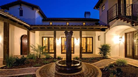 Spanish Hacienda Floor Plans With Courtyards by Spanish Hacienda Mediterranean Exterior Austin By