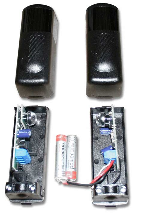 Hannochs Genius Acdc 12 Wat barri 232 re infrarouge 12v 24v ac dc en applique sur piles trebi automatismes votre r 233 f 233 rence