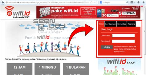 Voucher Wifi Telkom cara login menggunakan voucher wifi id telkom wifi id seen day