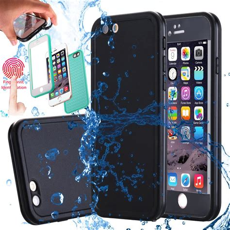 waterproof shockproof rubber defender tpu cover for apple iphone 7 6s 8plus ebay