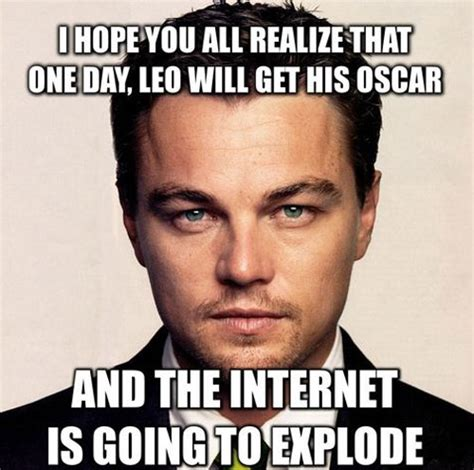 Dicaprio Oscar Meme - 10 things we hope happen at the 2014 oscars