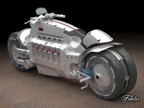dodge tomahawk concept  model max obj ds fbx cd stl cgtradercom
