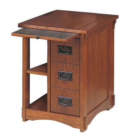 magazine table with l powell furniture mission oak magazine rack cabinet 356