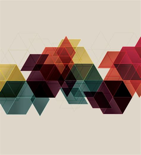 geometric pattern background vector illustrator tutorials to learn design illustration